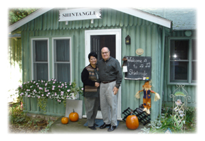 Jim and Tracy in October
